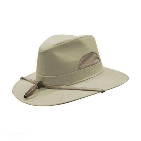 Hills Hats of New Zealand Southern Tech Safari Fedora Hat