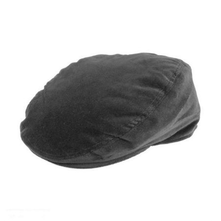 Hills Hats of New Zealand Velour Cheesecutter Ivy Cap
