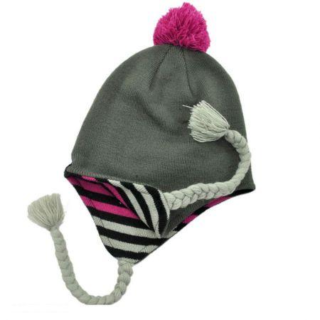 Aymara Knit Peruvian Beanie Hat alternate view 1