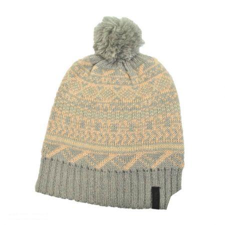Fairisle Pom Beanie Hat