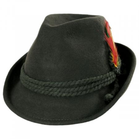 Jaxon Hats Alpine Fedora Hat