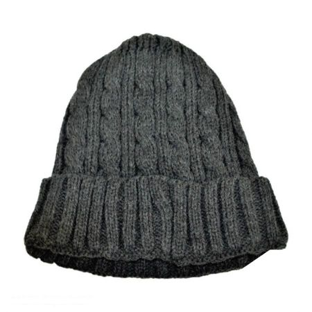 Cable Knit Beanie Hat alternate view 1