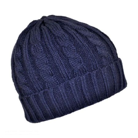 Cable Knit Beanie Hat alternate view 4