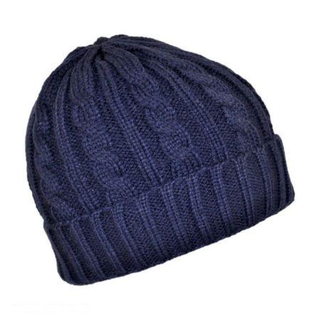 Jaxon Hats Cable Knit Acrylic Beanie Hat