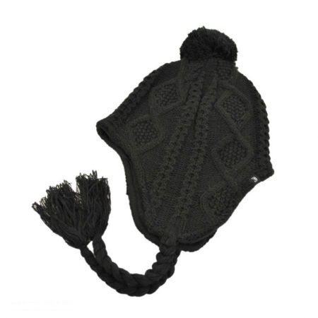 Jaxon Hats Cable Knit Peruvian Beanie Hat