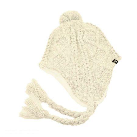 Jaxon Hats Cable Knit Acrylic Peruvian Beanie Hat