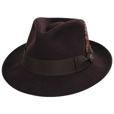 C-Crown Crushable Wool Felt Fedora Hat alternate view 90
