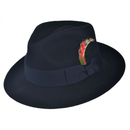 C-Crown Crushable Wool Felt Fedora Hat alternate view 16