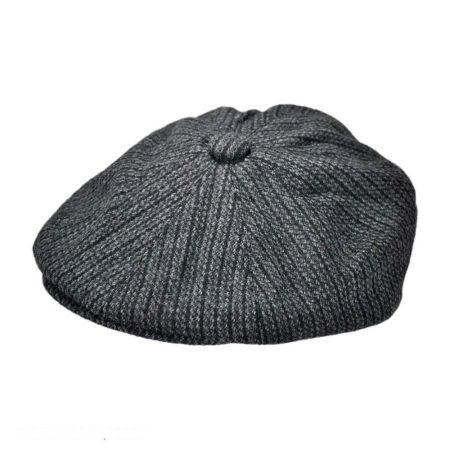 Jaxon Hats Chainlink Wool Blend Newsboy Cap