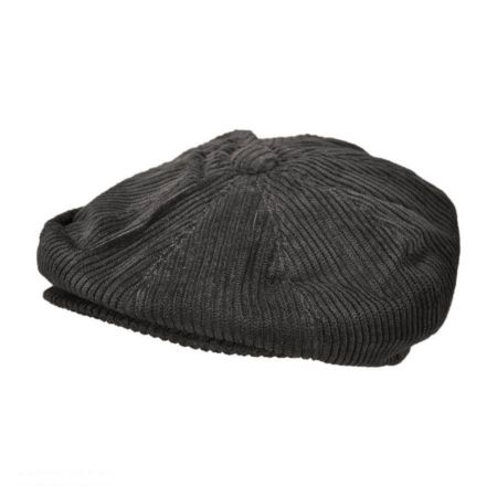 Jaxon Hats Corduroy Wide Wale Cotton Newsboy Cap