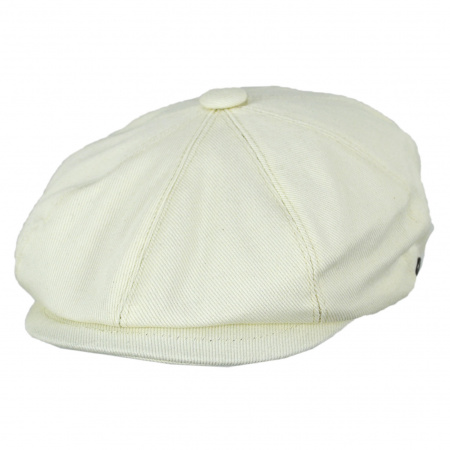 Jaxon Hats Cotton Newsboy Cap