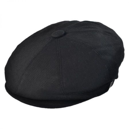 Cotton Pique Newsboy Cap