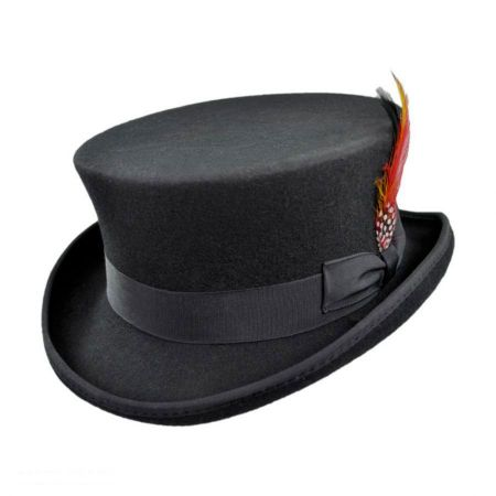 Jaxon Hats Deadman Wool Felt Top Hat