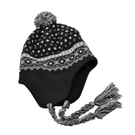 Jaxon Hats El Toro Knit Peruvian Beanie Hat