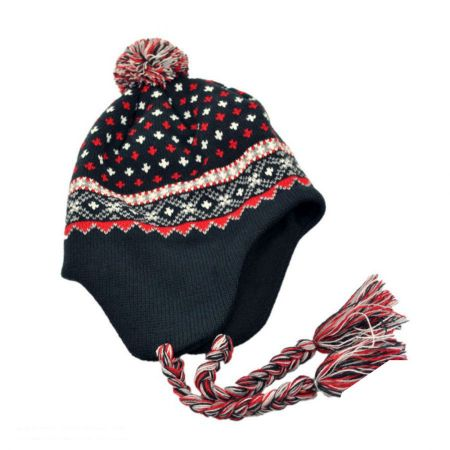 El Toro Knit Peruvian Beanie Hat alternate view 3