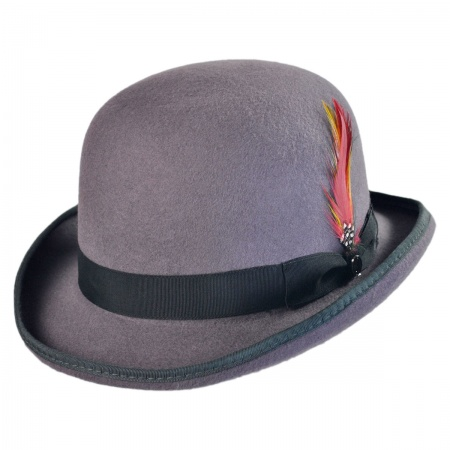 Jaxon Hats English Wool Felt Derby Hat
