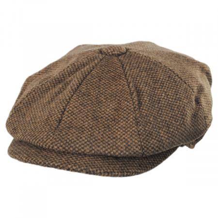 Jaxon Hats Gotham Wool Blend Newsboy Cap
