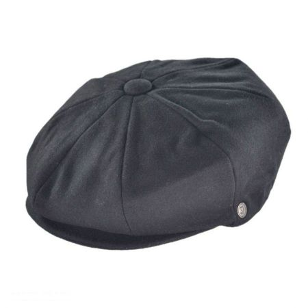 Jaxon Hats Harlem Wool Blend Newsboy Cap