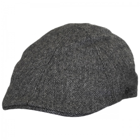 herringbone wool blend newsboy cap at Village Hat Shop 74c25487a4