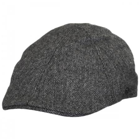 Jaxon Hats Herringbone Wool Blend Duckbill Ivy Cap