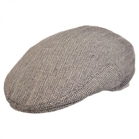 Herringbone Wool Blend Ivy Cap