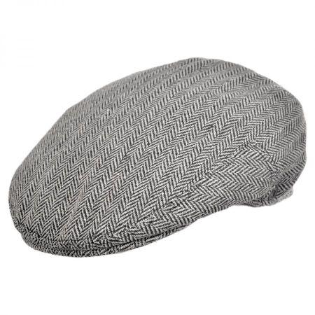Jaxon Hats Herringbone Wool Blend Ivy Cap