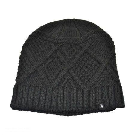 Kensington Knit Acrylic Beanie Hat