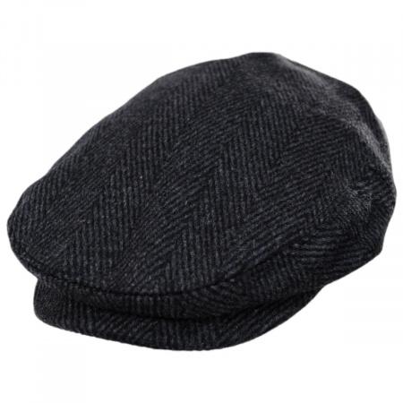 Jaxon Hats Large Herringbone Wool Blend Ivy Cap