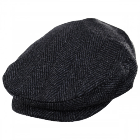 Large Herringbone Wool Blend Ivy Cap alternate view 9
