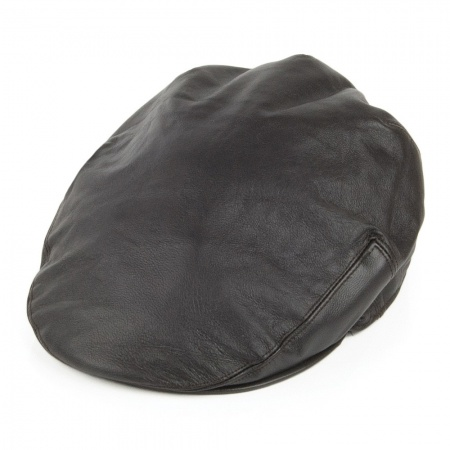 Jaxon Hats Leather Ivy Cap