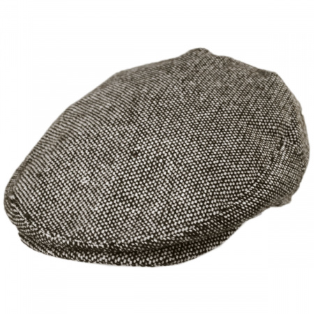 Jaxon Hats Marl Tweed Wool Blend Ivy Cap