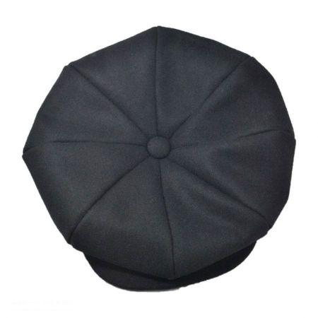 Jaxon Hats Melton Wool Blend Big Apple Cap