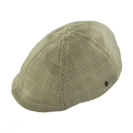 Jaxon Hats Micro Houndstooth Duckbill Ivy Cap