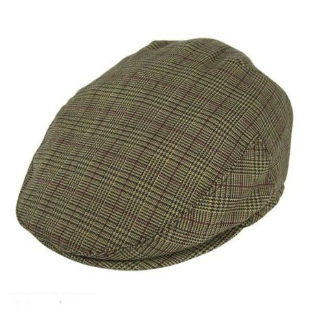 Jaxon Hats Mini Glen Plaid Ivy Cap