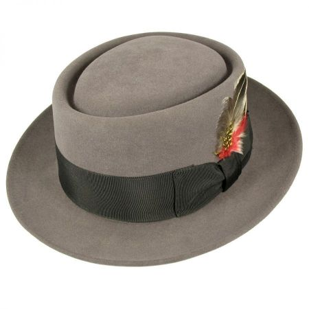Monk Fur Felt Pork Pie Hat