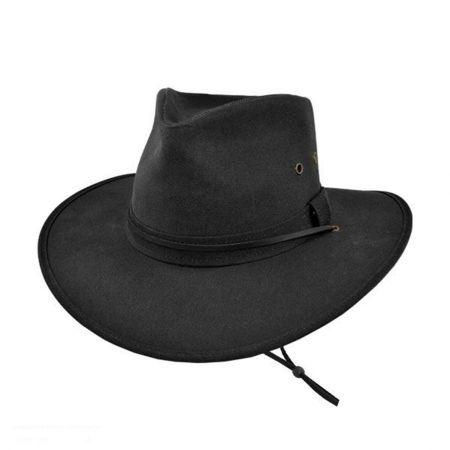 Jaxon Hats Oilcloth Aussie Hat