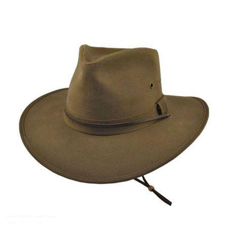 Oilcloth Aussie Hat