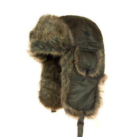 Jaxon Hats Rain Resistant Nylon Trapper Hat