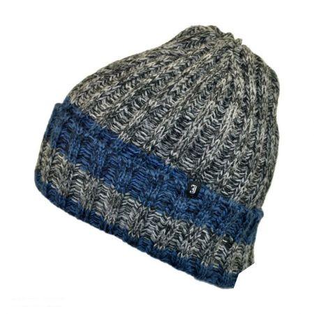 Ravi Rib Knit Acrylic Beanie Hat