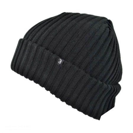 Rib Knit Slouchy Beanie Hat