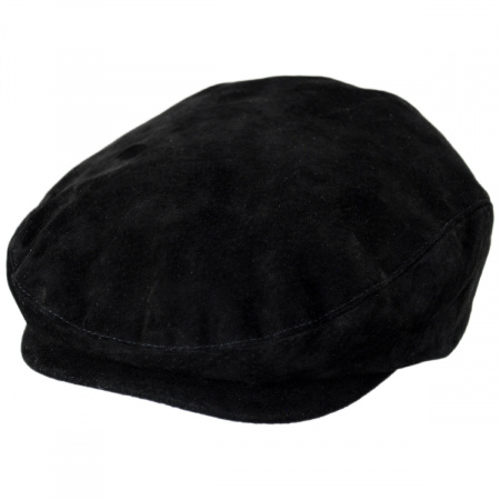 Jaxon Hats Five-Point Suede Ivy Cap