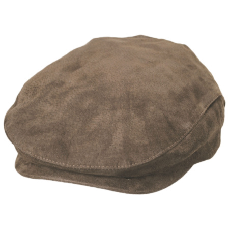 Five-Point Suede Ivy Cap