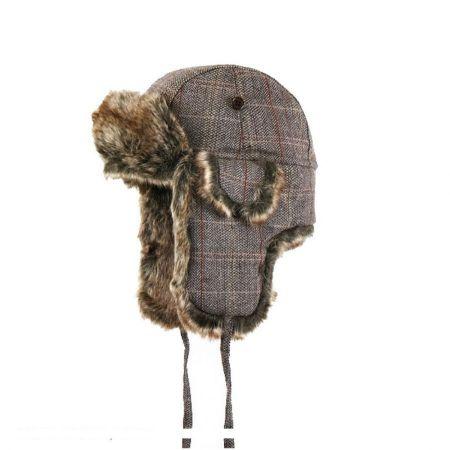Jaxon Hats Tweed Trapper Hat