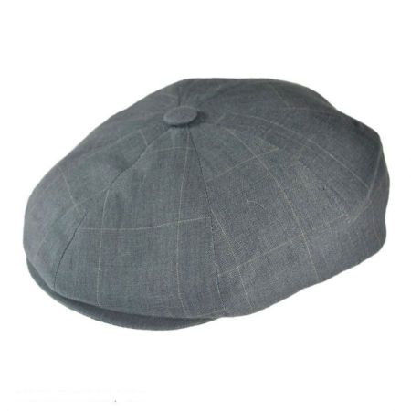 Jaxon Hats - Made in Italy Finestra Linen Newsboy Cap
