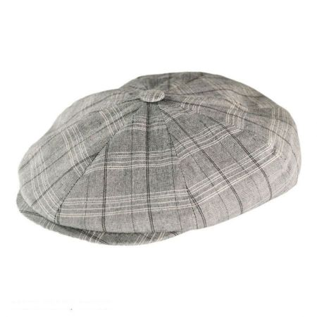 Jaxon Hats - Made in Italy Recinto Cotton Blend Newsboy Cap