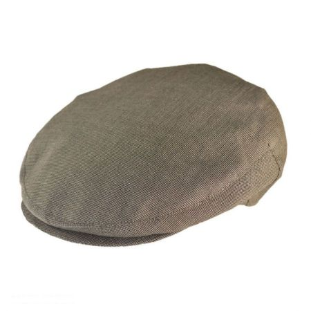 Jaxon Hats - Made in Italy Tessere Cotton Blend Ivy Cap