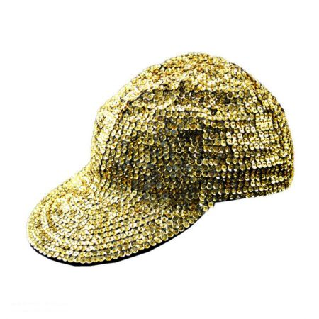 JC Sequins Sequin Baseball Cap