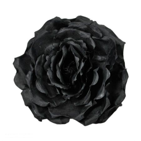 Jeanne Simmons Extra Large Satin Rose Clip/Pin