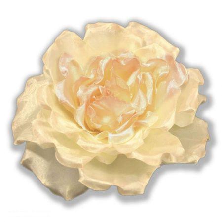Extra Large Satin Rose Clip/Pin