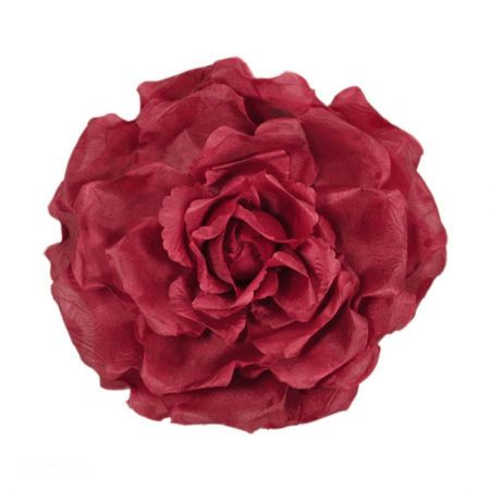 Extra Large Satin Rose Clip/Pin alternate view 4